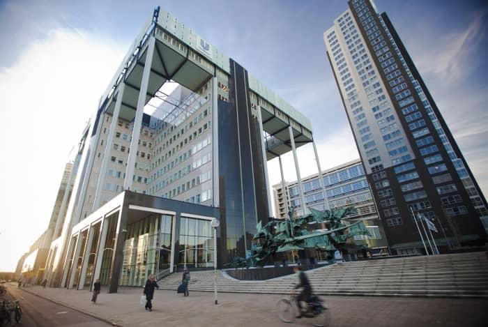 네덜란드 로테르담 소재 유니레버(Unilever N.V.) 본부
