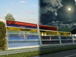 Blog-Colored Solar Panels